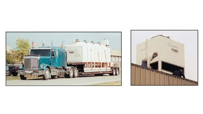 Cooling Tower Delivery and Installation