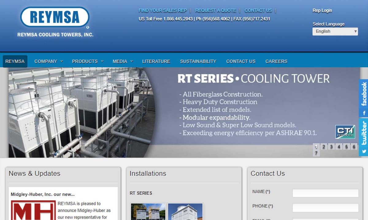 REYMSA Cooling Towers, Inc.