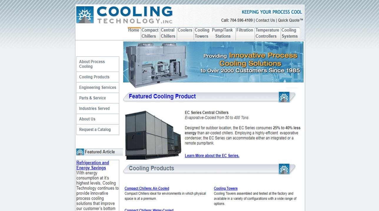 Cooling Technology, Inc.
