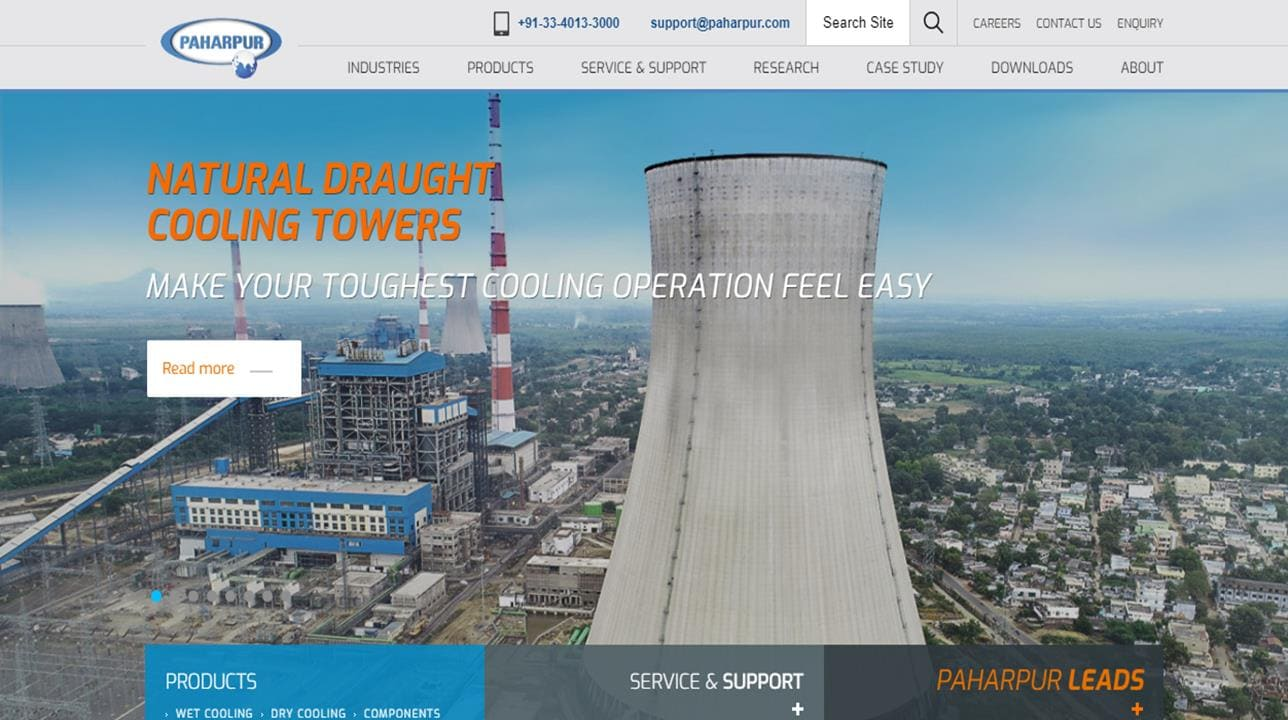 Paharpur Cooling Towers, Ltd.