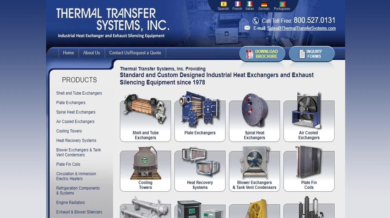 Thermal Transfer Systems, Inc.