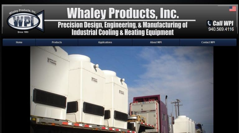 Whaley Products, Inc.
