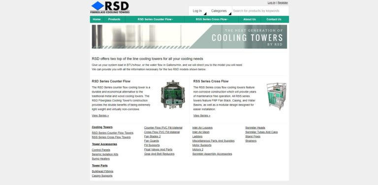 RSD Cooling Towers