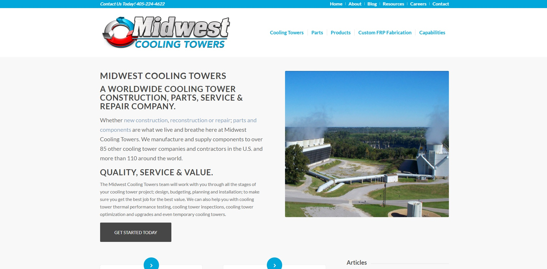 Midwest Towers Inc Cooling Towers